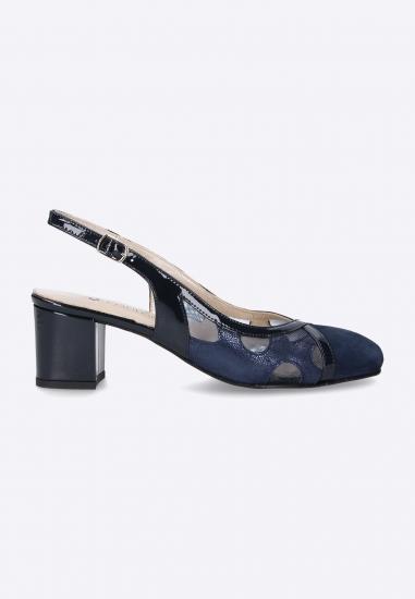 Sandały ze zdobieniem Confort