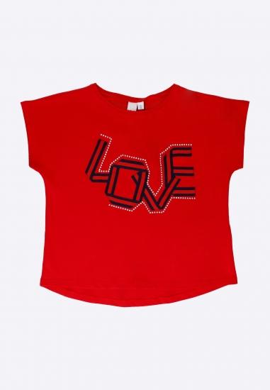 T-shirt dziewczęcy z nadrukiem I Do