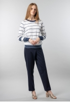 Sweter damski w paski Gas