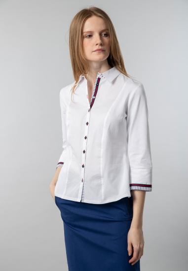 Koszula damska z łączonych tkanin Tinta