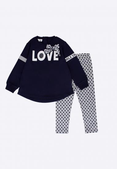 Komplet dziewczęcy bluza+legginsy I Do