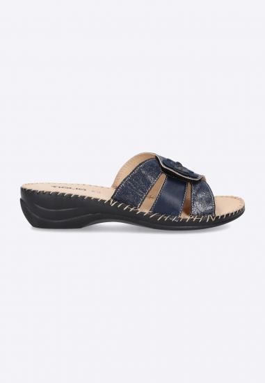 Pantofle damskie na rzep...