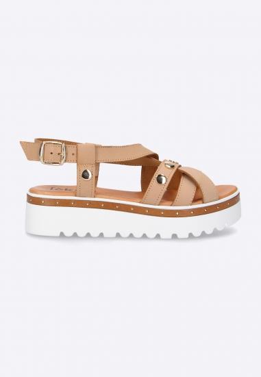 Sandały damskie Eks - 012BRAZ