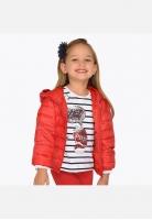Pikowana kurtka przeciwwiatrowa dla dziewczynki Mayoral