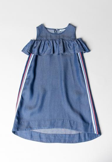 Sukienka na ramiączkach Melby - 007730N GRANAT