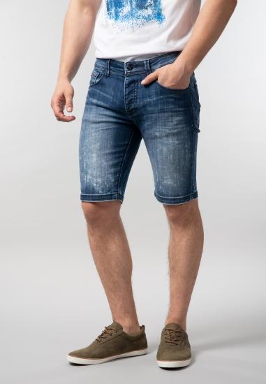 Męskie bermudy jeansowe Yes Zee