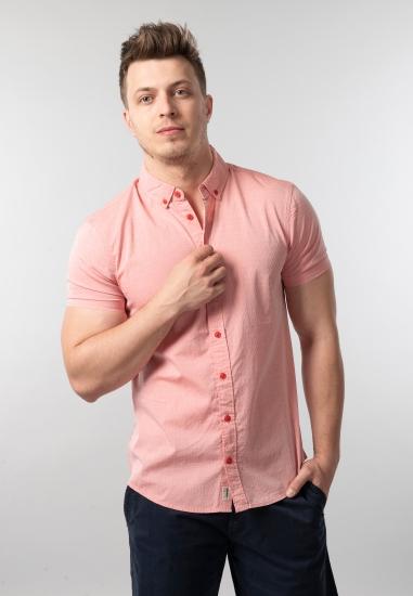 Koszula męska z krótkim rękawem slim fit Blend