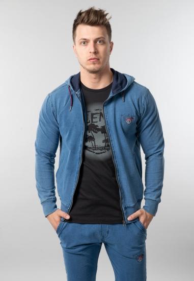 Męska rozpinana bluza z kapturem Be Board