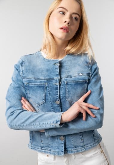 Kurtka jeansowa damska...
