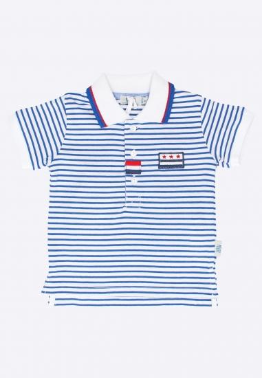 T-shirt w paski Melby