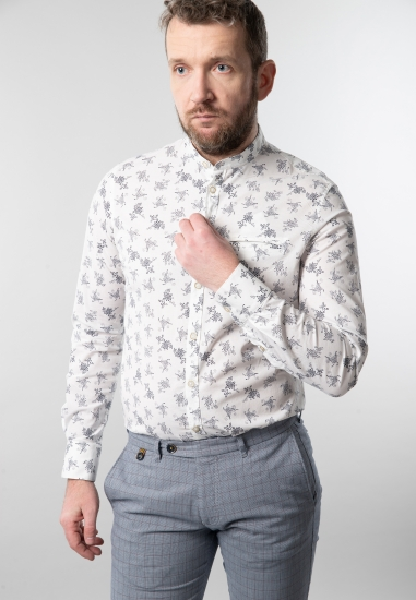 Wzorzysta koszula męska Yes...