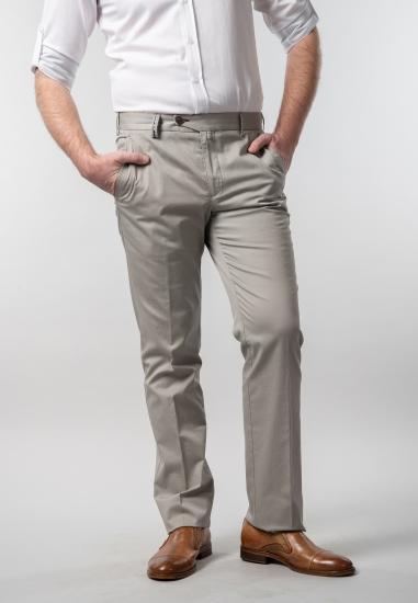 Męskie spodnie materiałowe...