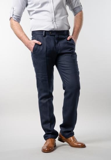 Lniane spodnie męskie...