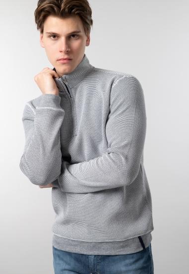 Sweter męski ze stójką...