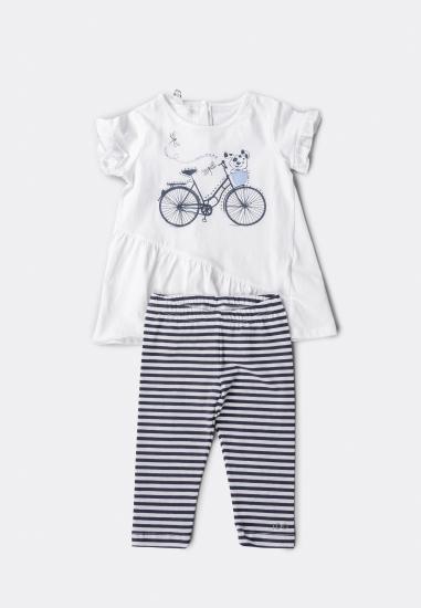 Komplet dla dziewczynki bluzka + legginsy I Do