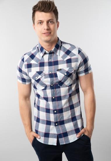 Koszula w kratkę slim fit Lee