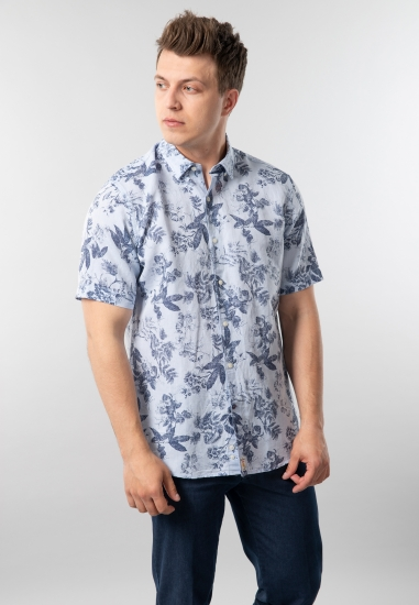 Wzorzysta koszula Pierre Cardin