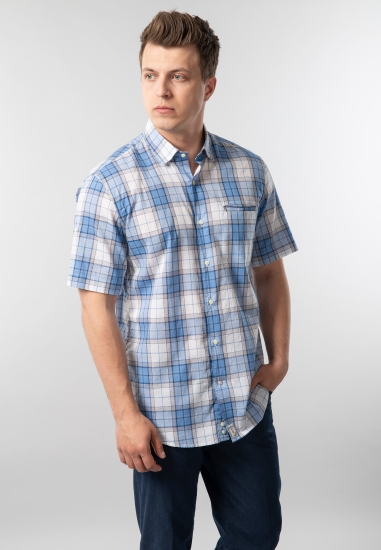 Koszula męska w kratkę Pierre Cardin