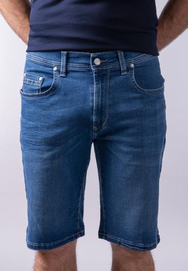 Bermudy męskie jeansowe Pioneer