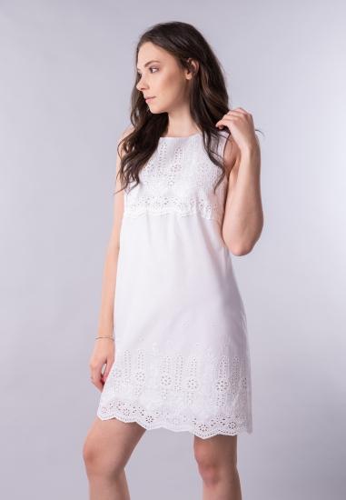 Sukienka z ażurowymi...