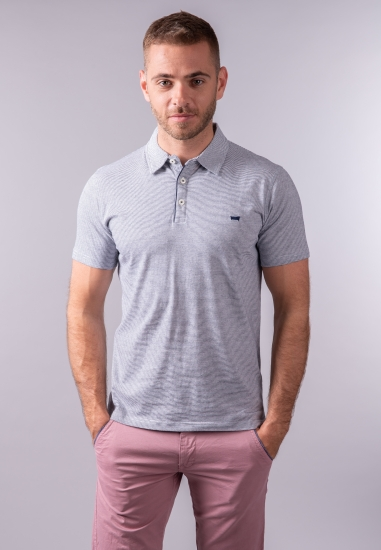 T-shirt męski polo w paski Carrera Jeans