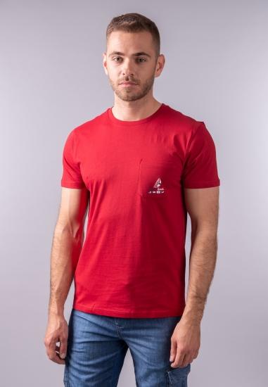T-shirt męski z kieszonką Navigare