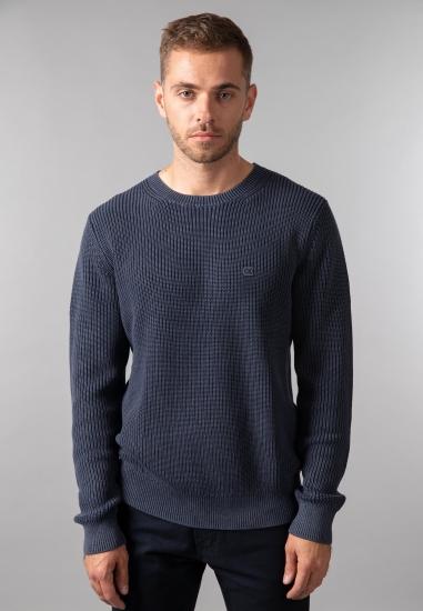 Sweter męski z grubej dzianiny Calvin Klein