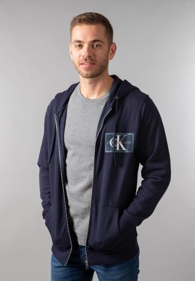 Rozpinana bluza z kapturem Calvin Klein