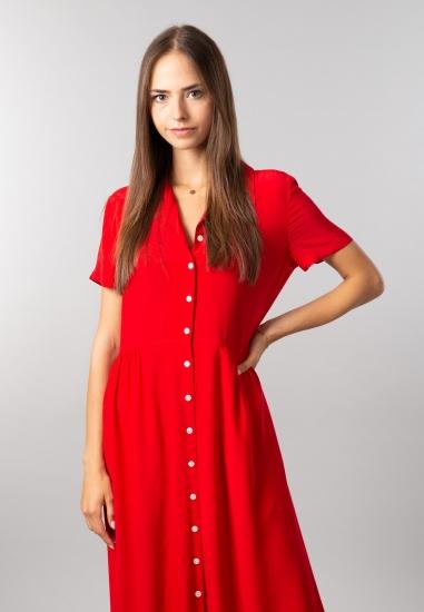 Długa sukienka damska Calvin Klein