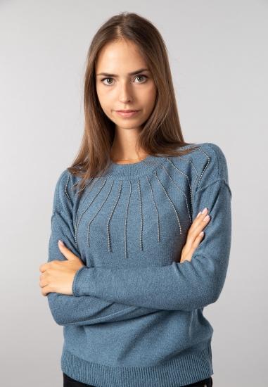 Sweter ze zdobieniem Taifun