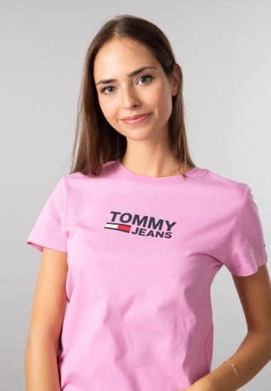 T-shirt z nadrukiem Tommy Jeans