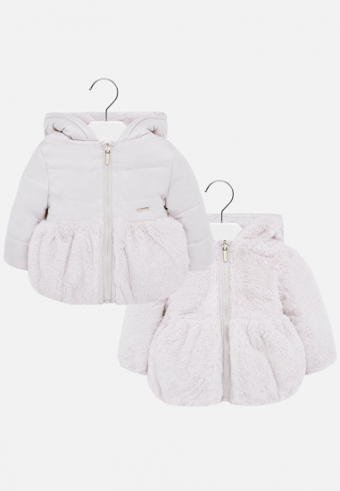 Dwustronna kurtka dziewczęca Mayoral baby