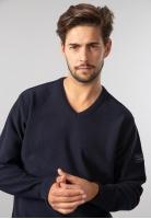 Sweter męski basic z domieszką wełny Exp Italy