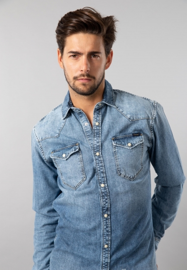 Koszula jeansowa męska Jack&Jones