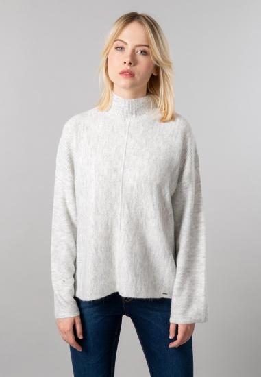 Sweter damski z półgolfem Gas