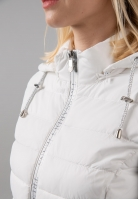 Pikowana kurtka damska Trussardi Jeans