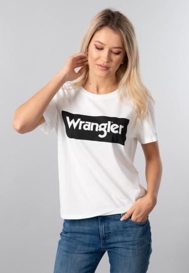 T-SHIRT DAMSKI WRANGLER -...