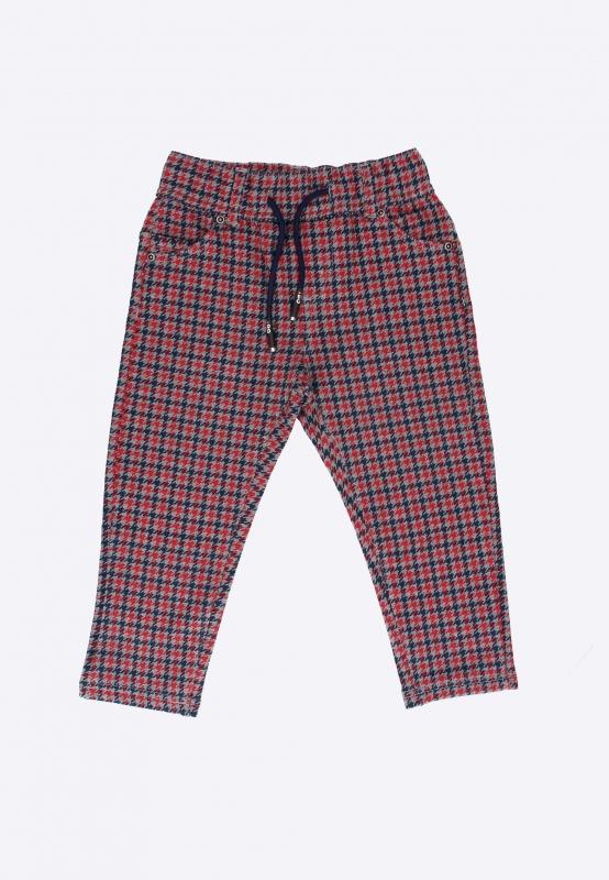 Spodnie chłopięce w pepitkę I DO