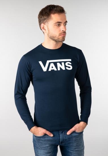 T-shirt z długim rękawem Vans - 007NAV1 GRANAT