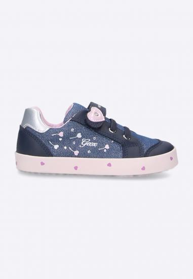 Sneakersy dziewczęce GEOX RESPIRA model KILWI