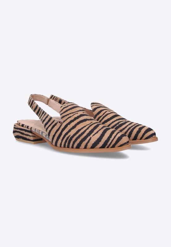 Sandały damskie z odkrytą piętą Wonders