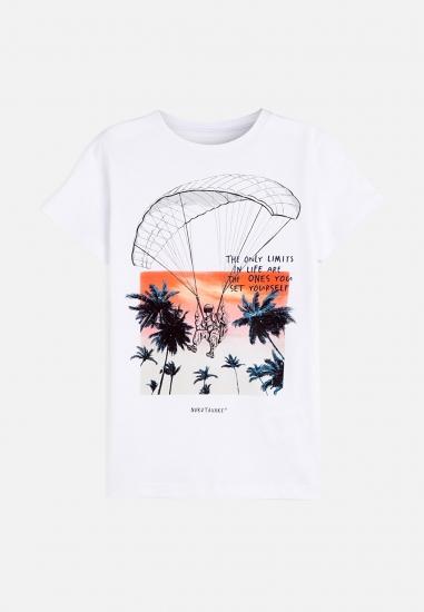 Chłopięcy t-shirt MAYORAL