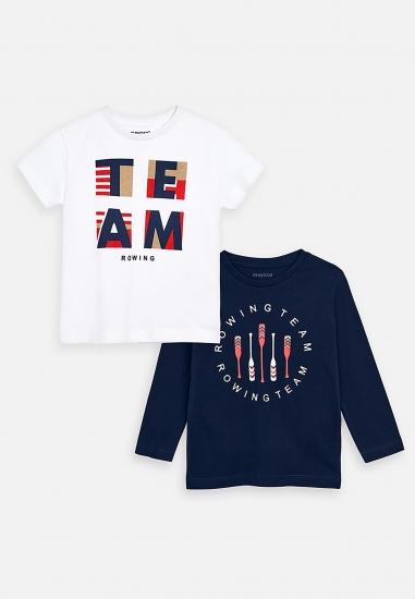 Zestaw koszulek dla chłopca firmy Mayoral