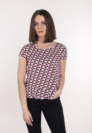 Wzorzysta koszulka TAIFUN -...