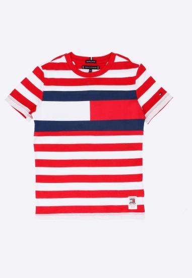 T-shirt dziecięcy Tommy Hilfiger