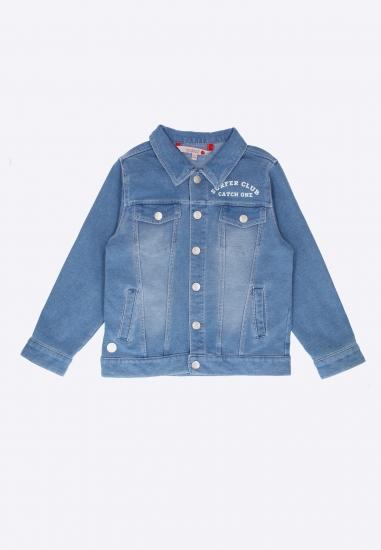 Kurtka jeansowa dla chłopca Boboli