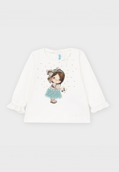 Koszulka dla dziewczynki Baby Mayoral