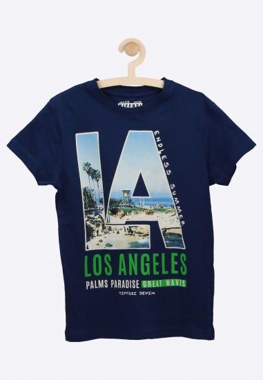 T-shirt z nadrukiem TIFFOSI
