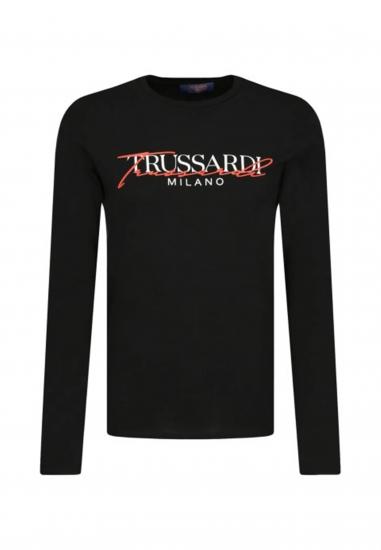 Bluzka z długim rękawem TRUSSARDI JEANS