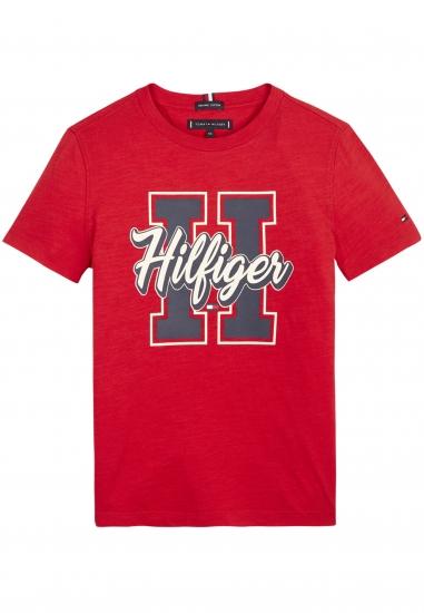 T-shirt dziecięcy z kolekcji Tommy Hilfiger